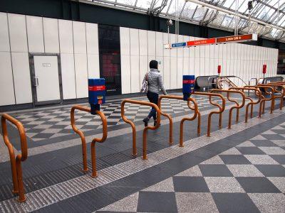 ウィーン地下鉄改札