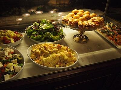 DEMELウィーン本店の惣菜