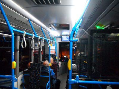 ブダペスト路線バス