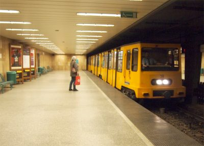 世界遺産の地下鉄