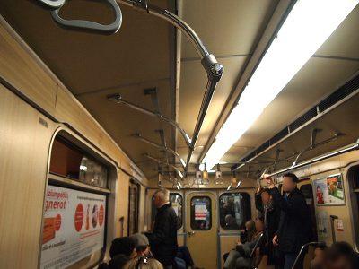 ブダペストの地下鉄3号線