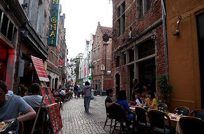 ブリュッセルのイロサクレ地区