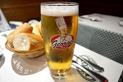 シェ・レオンのオリジナルビール