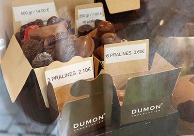 DUMONのチョコレート