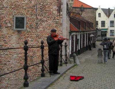 ブルージュ旧市街の入り口