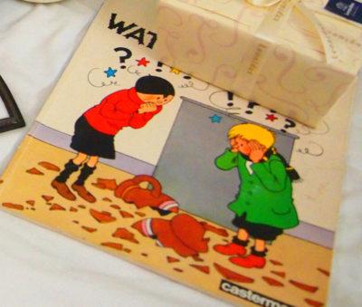 ベルギーの蚤の市で買ったコミック