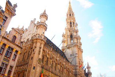 グランプラスのブリュッセル市庁舎