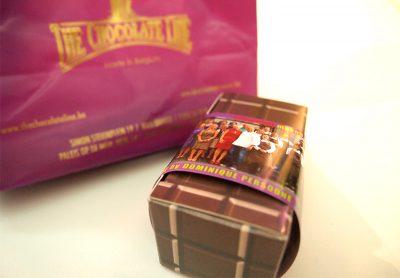 ザ・チョコレートラインのパッケージ