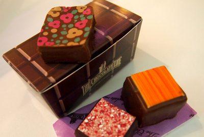ザ・チョコレートラインのフレーバーチョコ
