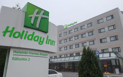 ヘルシンキ空港近くのホテル・ホリデイ・イン