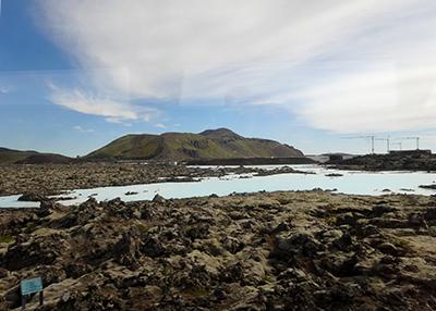 アイスランドのブルー・ラグーン入り口