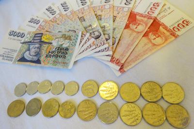 アイスランド通貨クローナ