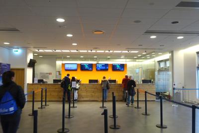 Graylineバスターミナルでチェックイン
