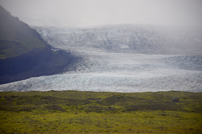 ヴァトナヨークル氷河