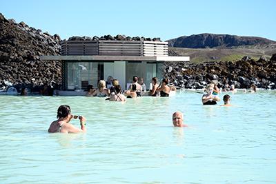 アイスランドのブルー・ラグーン