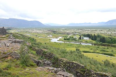 アイスランドの世界遺産シンクヴェトリル国立公園