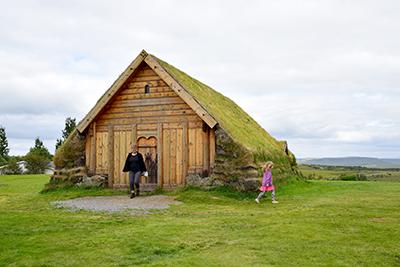 アイスランド伝統のターフハウス