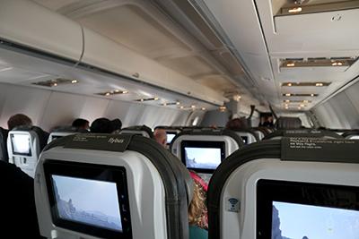 アイスランド航空の機内