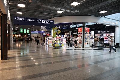 ヘルシンキヴァンター空港シェンゲン協定外エリア