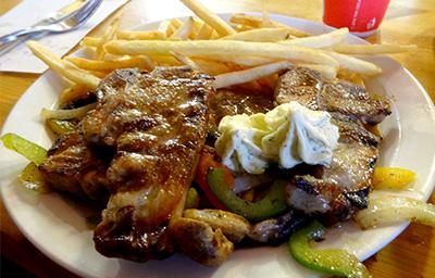 アイスランドで食べたラムステーキ