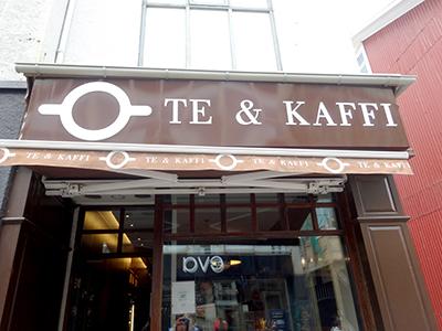 アイスランドのコーヒーチェーンTe & Kaffi