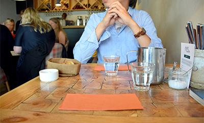 レイキャビクの魚が美味しいレストラン・オスタブージン