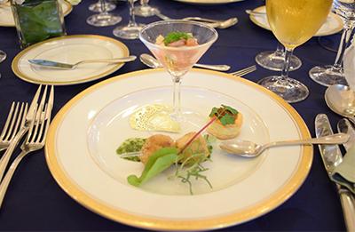 結婚式オリジナルメニュー世界の料理