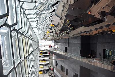 レイキャビクのハルパコンサートホール