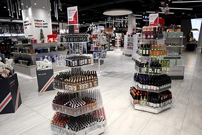 ケプラヴィーク国際空港免税店