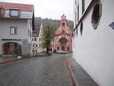 フュッセンの赤い教会聖霊シュピタール教会