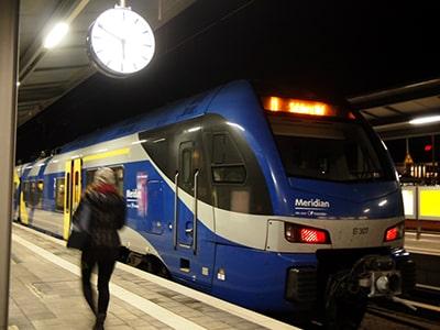 ミュンヘン中央駅~ザルツブルク中央駅