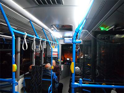 ブダペストの路線バス
