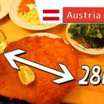 ウィーン名物ウィンナーシュニッツェルが人気のレストランを訪問♪