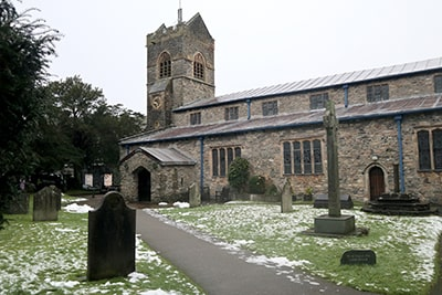 ボウネスの教会