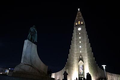 レイキャビクのハットルグリムス教会