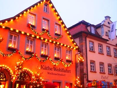 ローテンブルクのクリスマス雑貨店