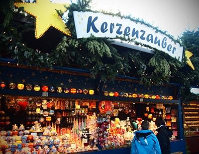 ミュンヘン新市庁舎前クリスマスマーケット