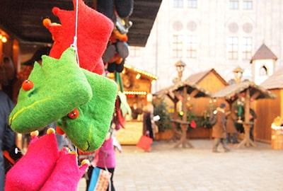 ミュンヘンレジデンツのクリスマスマーケット