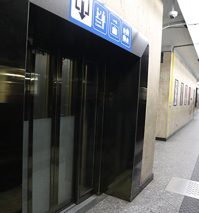 ブリュッセル中央駅ホーム