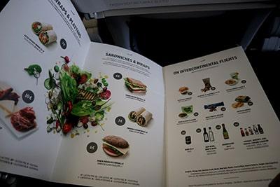 フィンエアー機内軽食