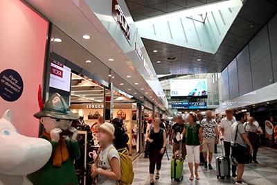 ヘルシンキ・ヴァンター空港の免税店