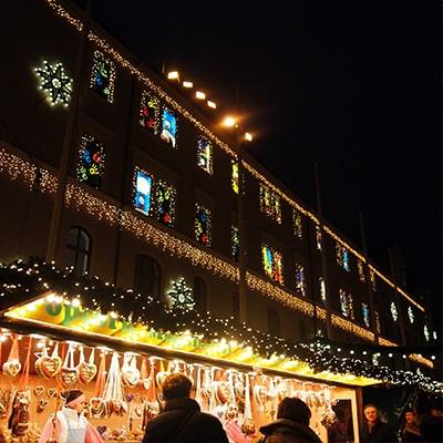 アウグスブルククリスマスマーケットのアドベントカレンダー