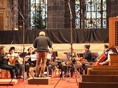 聖ローレンツ教会のコンサート