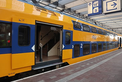 ロッテルダム駅のホーム