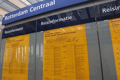 オランダ鉄道NSホームの時刻表