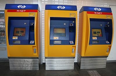 オランダ国鉄NSの券売機