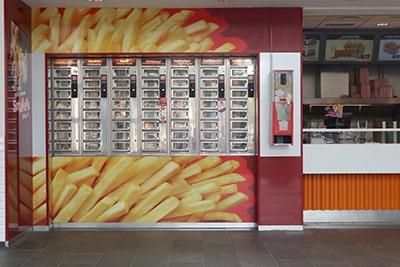 オランダの自販機