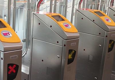 オランダ国鉄の改札