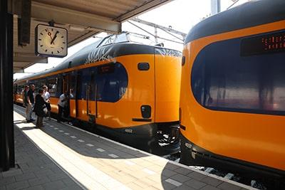 ゴーダ→ロッテルダム中央へのIC列車