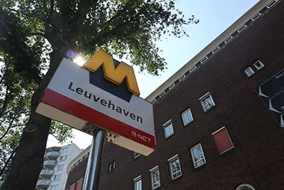 ロッテルダムの地下鉄